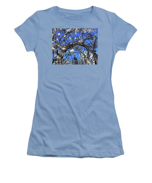 Women's T-Shirt (Athletic Fit) featuring the photograph Charlie Blossom by Mark Blauhoefer
