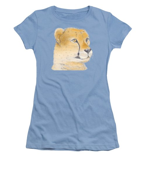 Cheetah 3 Women's T-Shirt (Junior Cut) by Gilbert Pennison