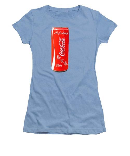 Chloe Women's T-Shirt (Junior Cut) by EricaMaxine Price