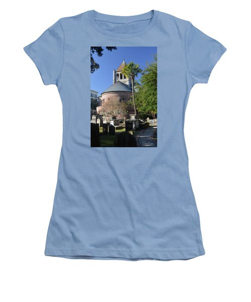 Circular Congregational Chuch 2 Women's T-Shirt (Junior Cut) by Gordon Mooneyhan
