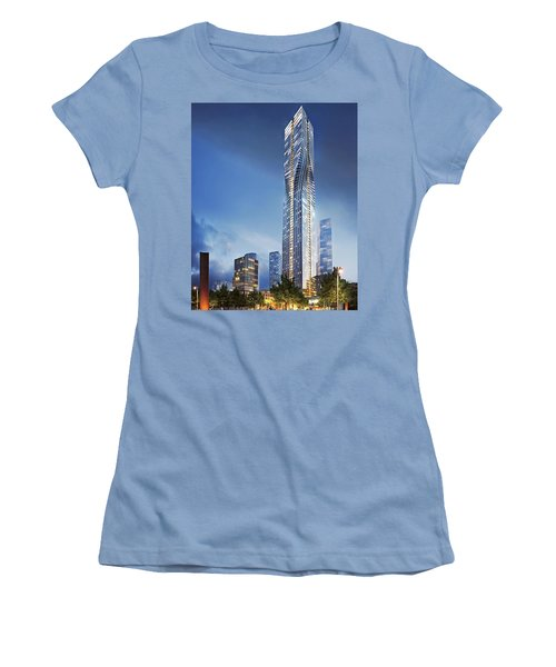 City Heights Women's T-Shirt (Athletic Fit)