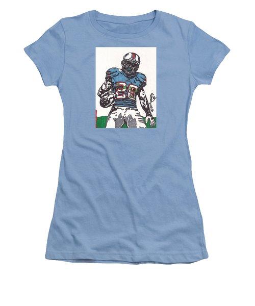 Cj Spiller 1 Women's T-Shirt (Junior Cut) by Jeremiah Colley