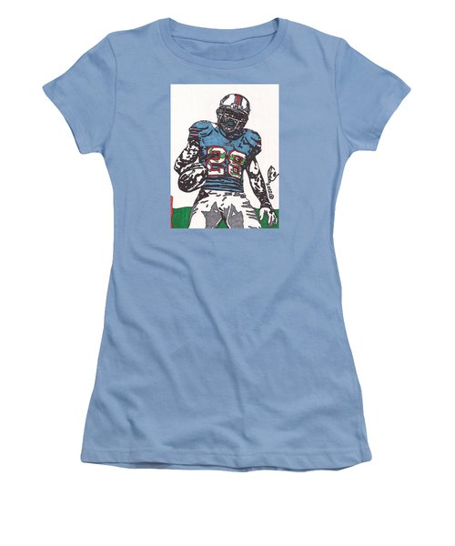 Cj Spiller 1 Women's T-Shirt (Athletic Fit)