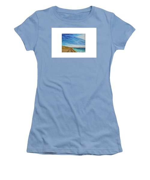 Clammin Home Women's T-Shirt (Athletic Fit)
