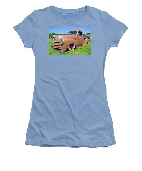 Classic Chevrolet Truck Women's T-Shirt (Junior Cut) by Marion Johnson