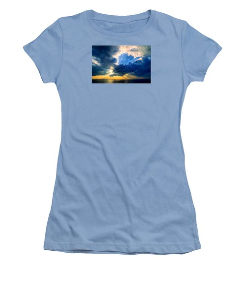 Clearing Storm Halibut Pt. Women's T-Shirt (Athletic Fit)