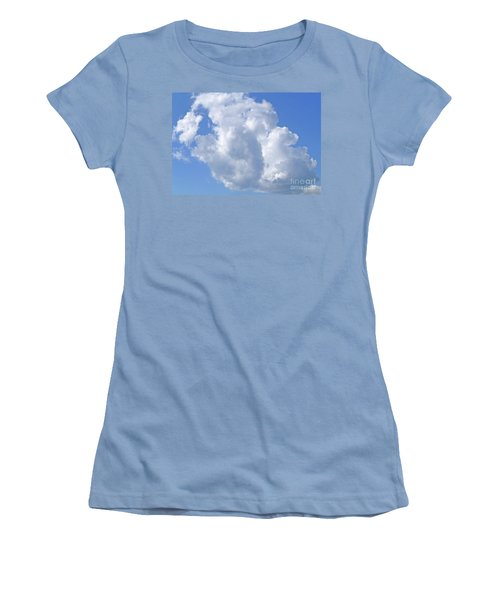 Women's T-Shirt (Athletic Fit) featuring the photograph Cloud M1 by Francesca Mackenney