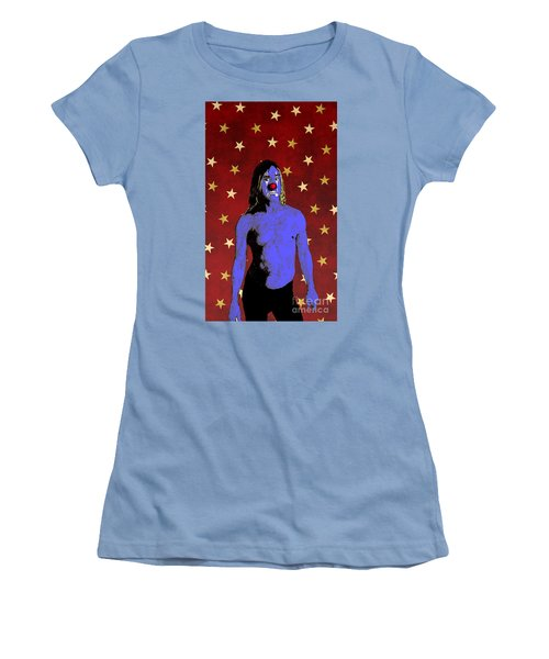 Clown Iggy Pop Women's T-Shirt (Athletic Fit)