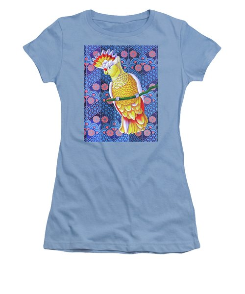 Cockatoo Women's T-Shirt (Athletic Fit)