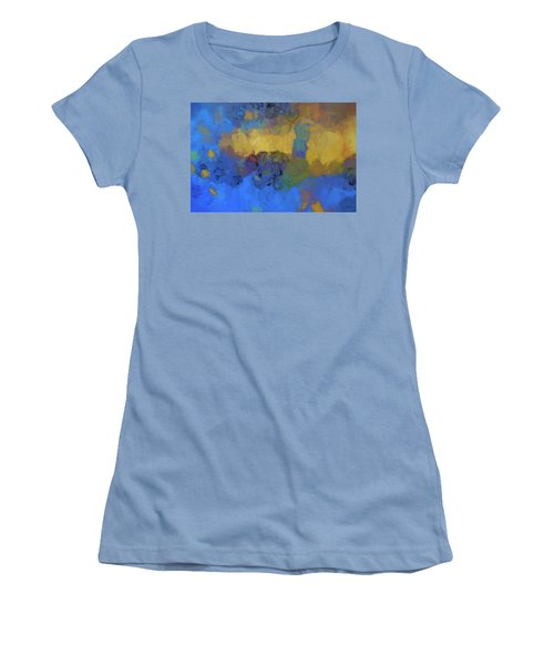 Color Abstraction Lviii Women's T-Shirt (Athletic Fit)