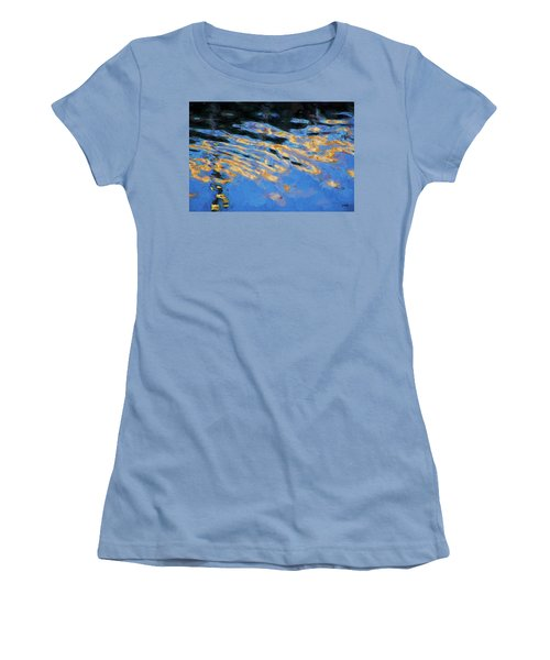 Color Abstraction Lxiv Women's T-Shirt (Junior Cut) by David Gordon