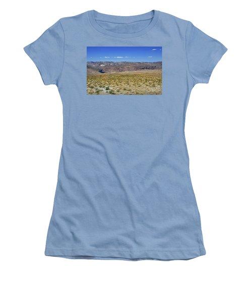 Colorado River In Arizona Women's T-Shirt (Junior Cut) by RicardMN Photography