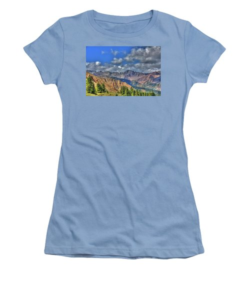 Colorado Rocky Mountains Women's T-Shirt (Athletic Fit)