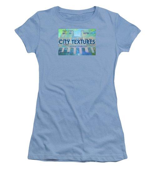 Cool City Textures Women's T-Shirt (Junior Cut) by John Fish