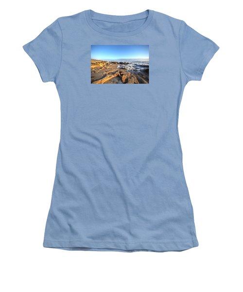 Coquina Carvings Women's T-Shirt (Junior Cut) by Robert Och