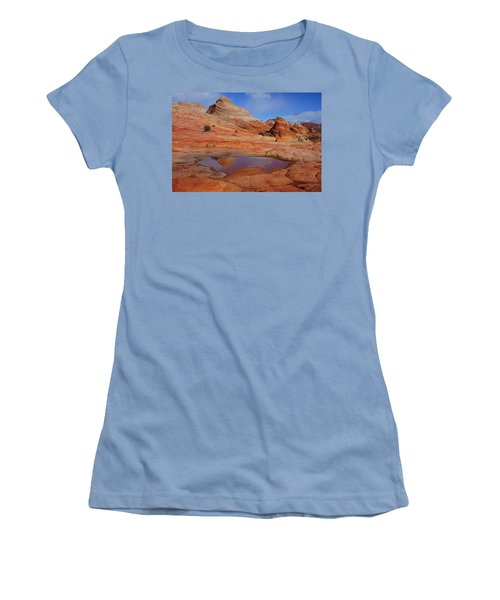 Coyote Butte Reflection Women's T-Shirt (Athletic Fit)
