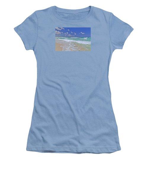 Cozumel Paradise Women's T-Shirt (Junior Cut) by Chad Dutson
