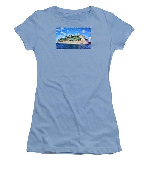 Women's T-Shirt (Junior Cut) featuring the photograph Cruising Thru Life by Sue Melvin