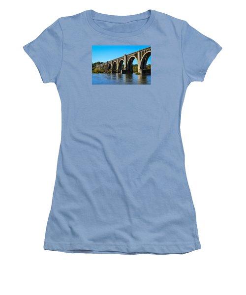 Csx A-line Bridge Women's T-Shirt (Athletic Fit)