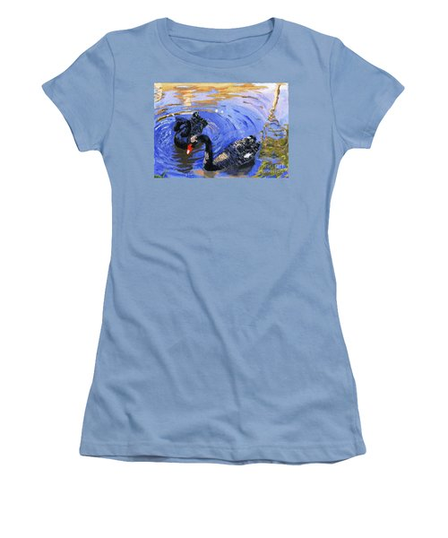 Cygnus Atratus Women's T-Shirt (Athletic Fit)