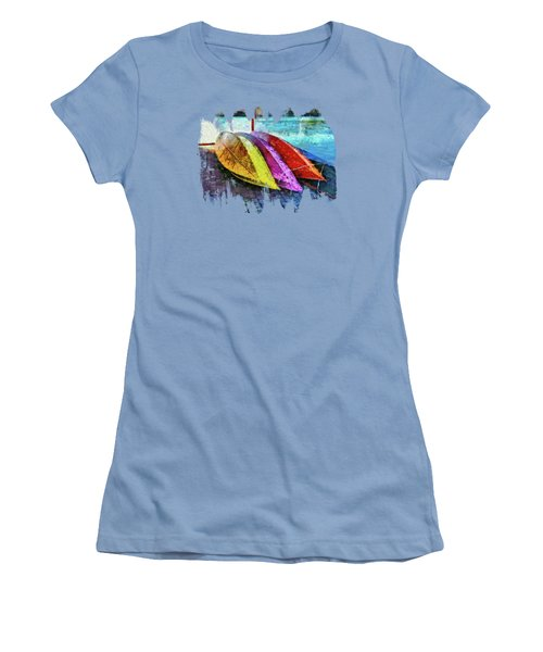 Daisy And The Rowboats Women's T-Shirt (Junior Cut) by Thom Zehrfeld
