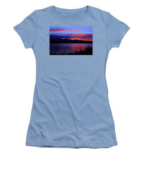 Daybreak Sunset Women's T-Shirt (Junior Cut) by Paul Marto