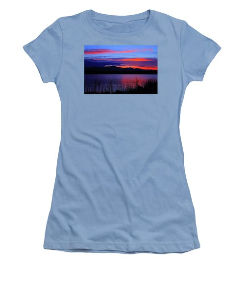 Daybreak Sunset Women's T-Shirt (Athletic Fit)
