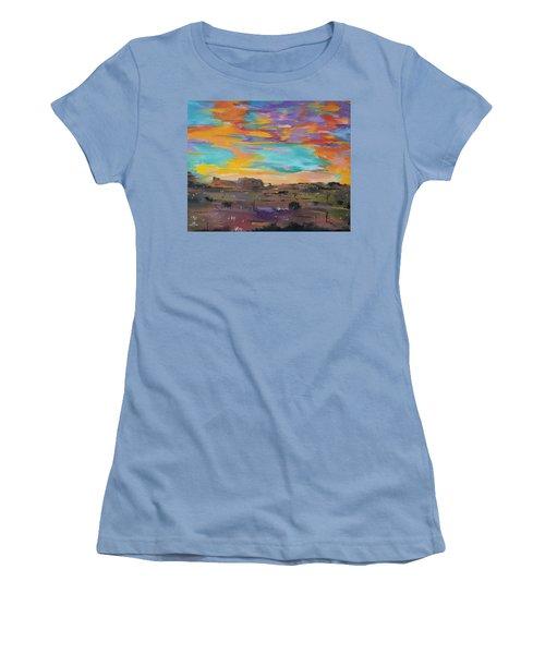 Desert Finale Women's T-Shirt (Athletic Fit)