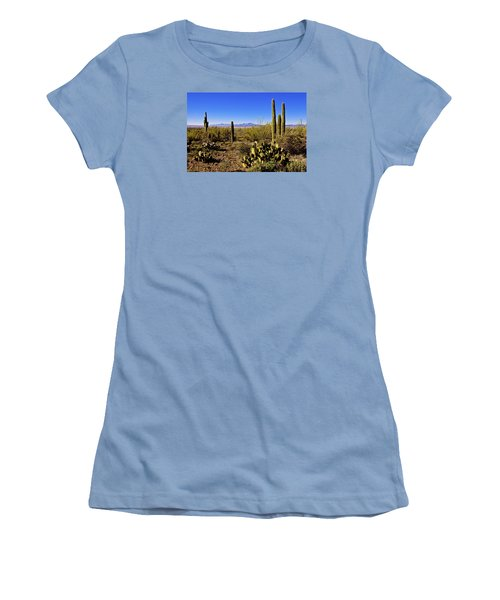 Desert Spring Women's T-Shirt (Junior Cut) by Chad Dutson