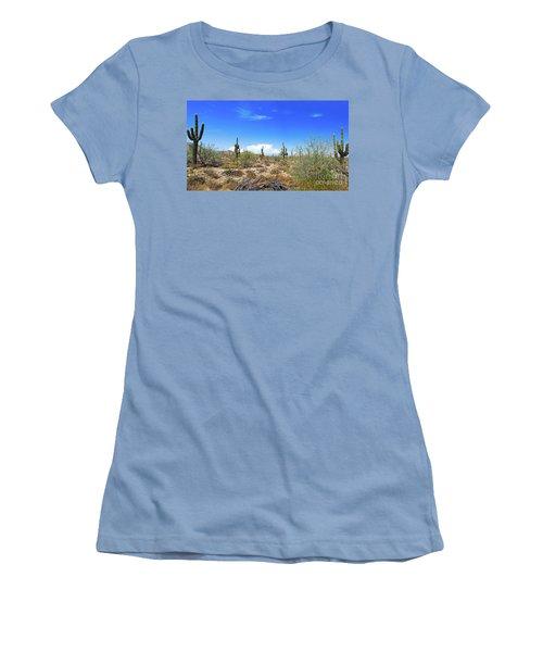 Desert View Women's T-Shirt (Athletic Fit)