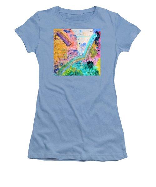 Detour Women's T-Shirt (Athletic Fit)