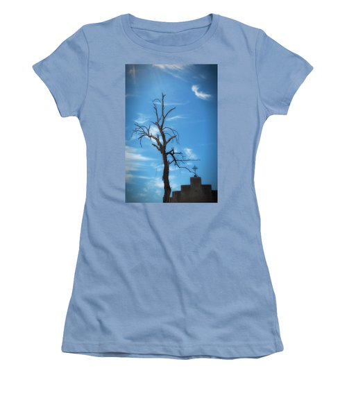 Women's T-Shirt (Athletic Fit) featuring the photograph Dia De Los Muertos by Lynn Geoffroy