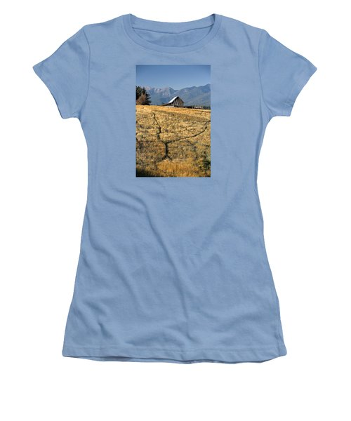Divergence Women's T-Shirt (Junior Cut) by Lawrence Boothby