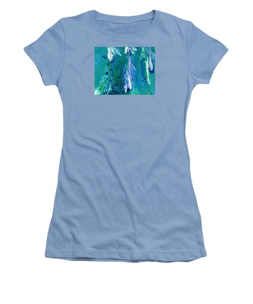 Diving To The Depths Women's T-Shirt (Junior Cut) by Lori Kingston