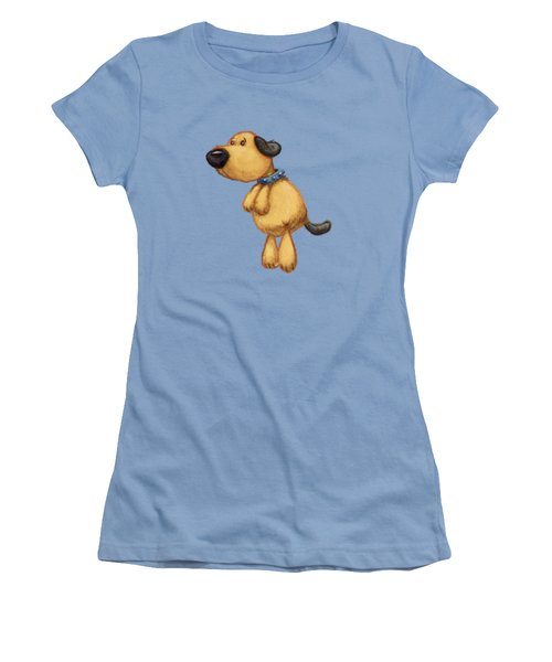 dog Women's T-Shirt (Junior Cut) by Andy Catling