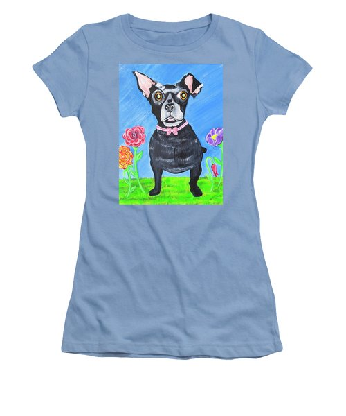 Doggone Delightful Women's T-Shirt (Athletic Fit)