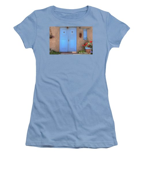 Doors, Peppers And Flowers. Women's T-Shirt (Athletic Fit)