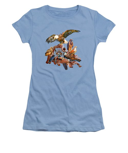 Dream Catcher - Spirit Birds Women's T-Shirt (Athletic Fit)