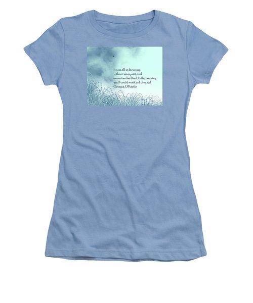 Dream Home Women's T-Shirt (Junior Cut) by Trilby Cole