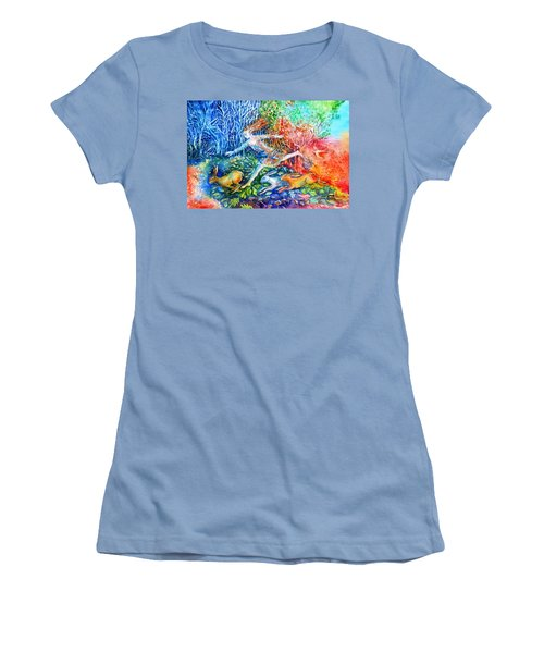 Dreaming With Hares Women's T-Shirt (Athletic Fit)