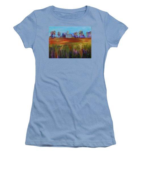 Drive-by View Women's T-Shirt (Junior Cut) by Terri Einer