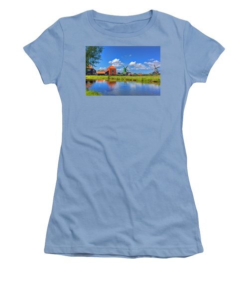 Dutch Countryside Women's T-Shirt (Athletic Fit)
