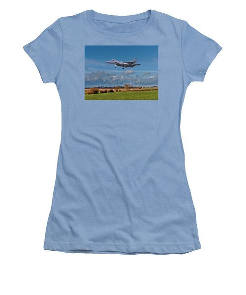 Eagle On Finals Women's T-Shirt (Athletic Fit)