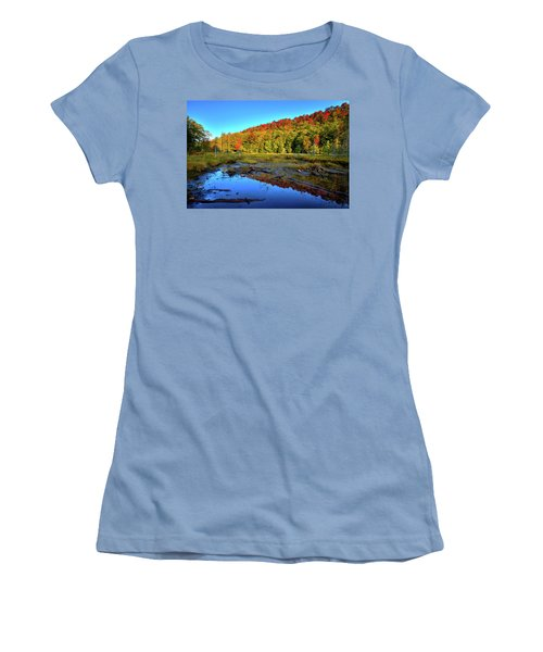 Women's T-Shirt (Athletic Fit) featuring the photograph Early Morning Light by David Patterson