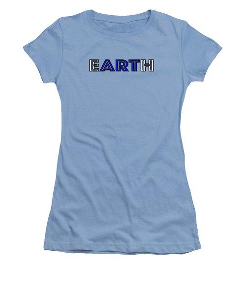 Earth Art Women's T-Shirt (Athletic Fit)