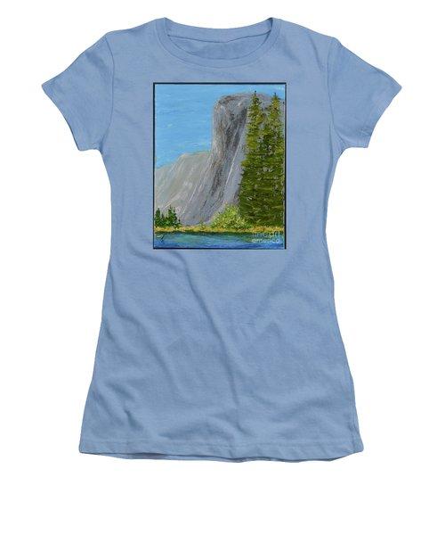 Elcapitan Women's T-Shirt (Athletic Fit)