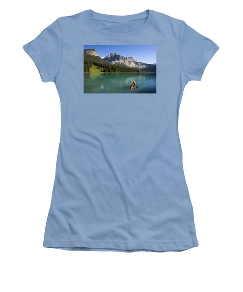 Emerald Lake Women's T-Shirt (Junior Cut)