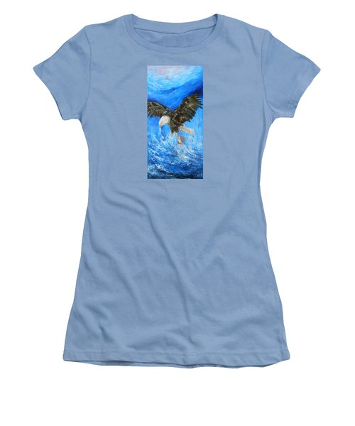 Women's T-Shirt (Junior Cut) featuring the painting Enchantment by Jane See