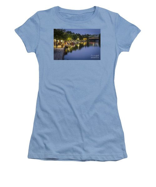 Erie Canal Shoreline Women's T-Shirt (Junior Cut)