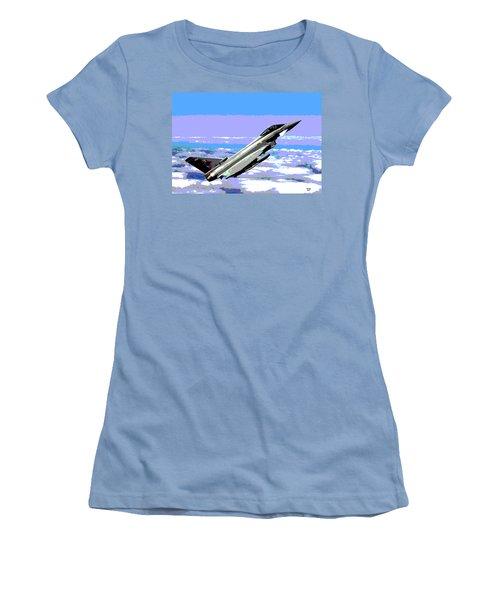Eurofighter Typhoon Women's T-Shirt (Junior Cut) by Charles Shoup